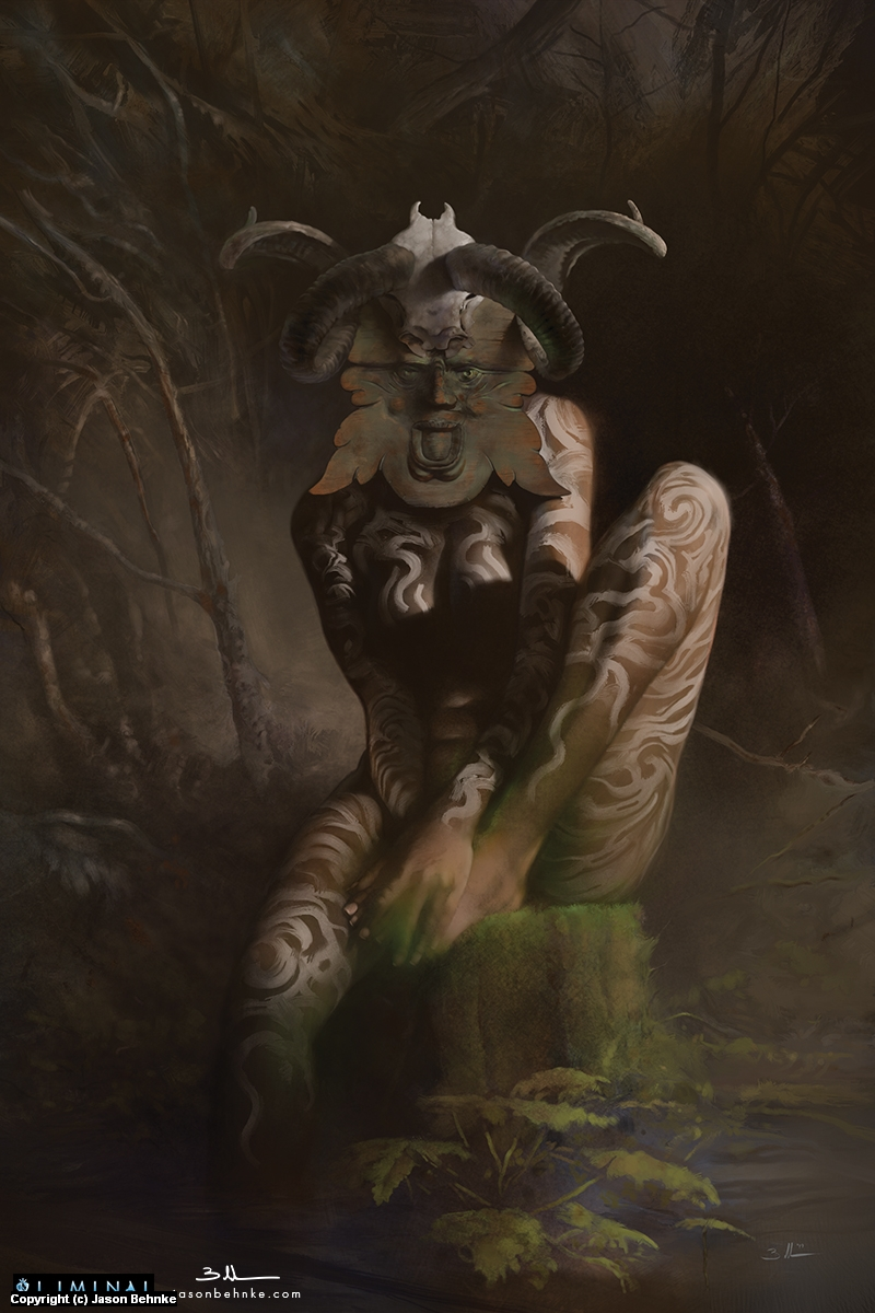 The Green Man Artwork by Jason Behnke