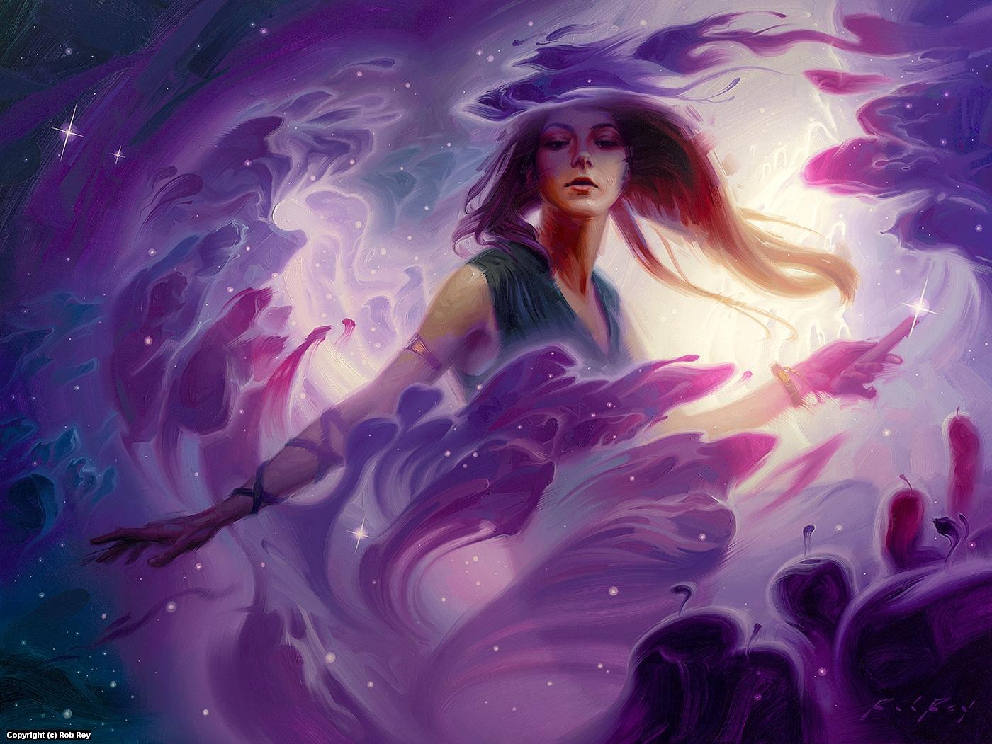 Fusion Lighting the Stars Artwork by Rob Rey