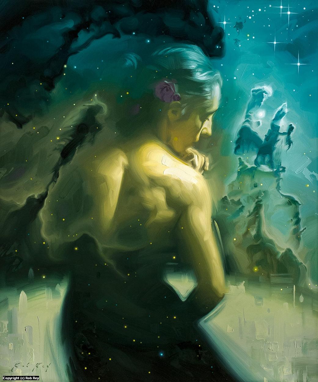Stardust IV Artwork by Rob Rey