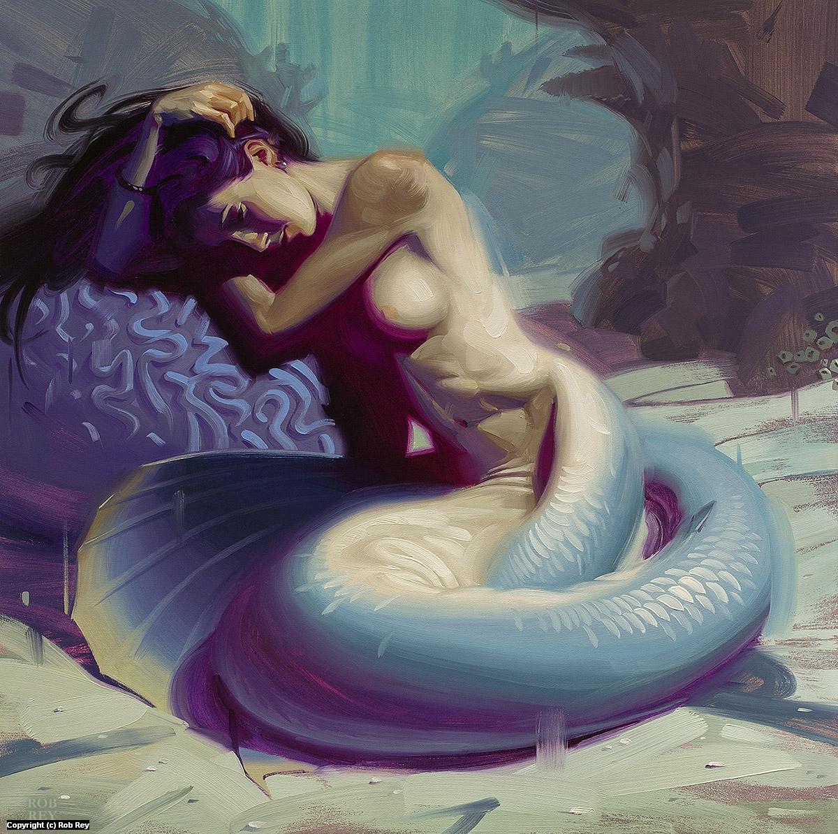 Loss (At Sea) Artwork by Rob Rey
