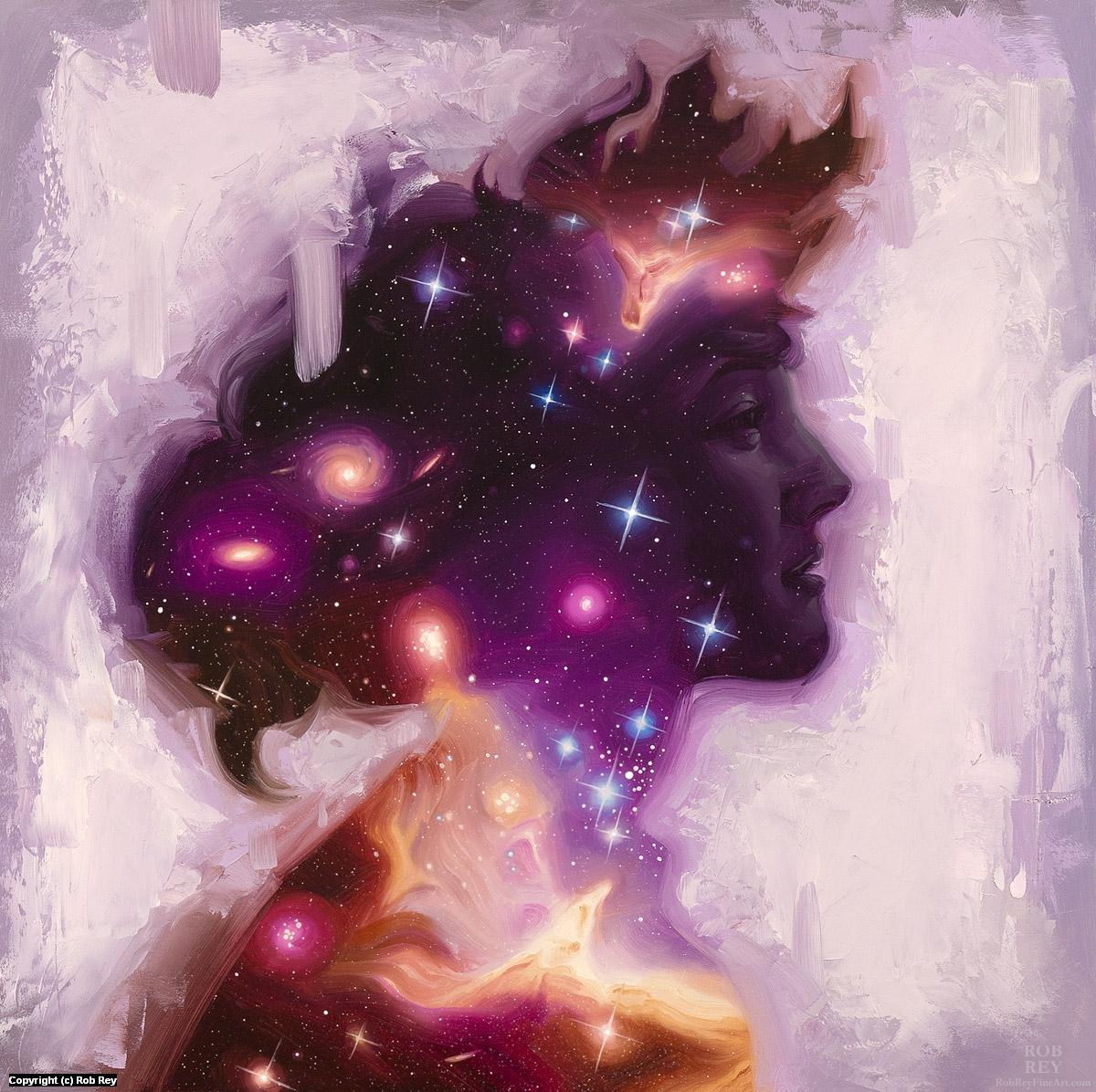 Stardust Gazing Back Artwork by Rob Rey