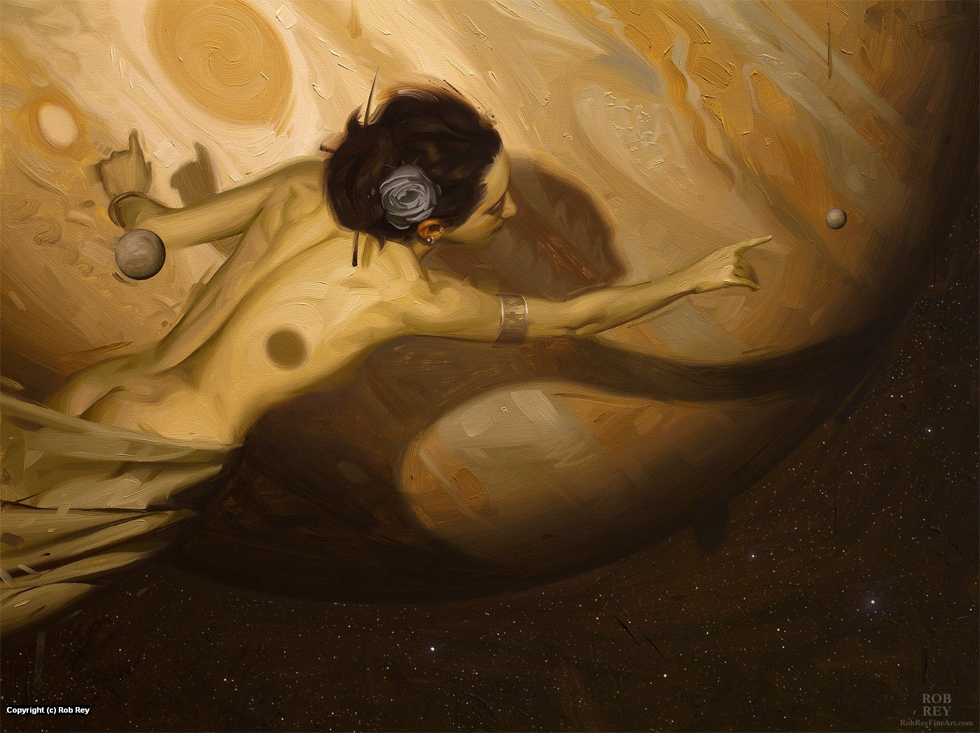 Reaching Europa Artwork by Rob Rey