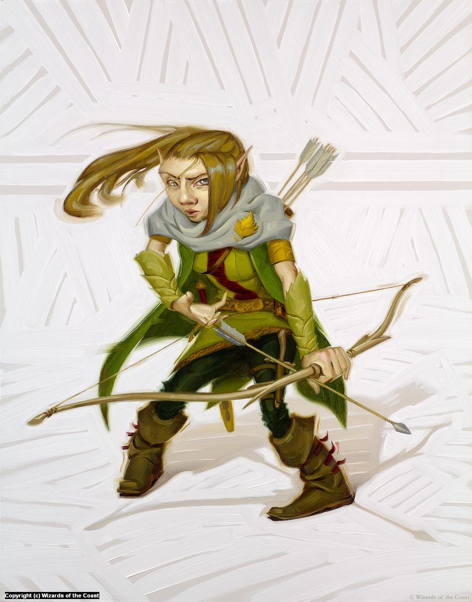 Gnome Ranger Artwork by Rob Rey