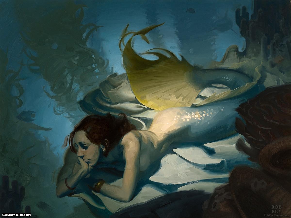 Shadowy Deep Artwork by Rob Rey