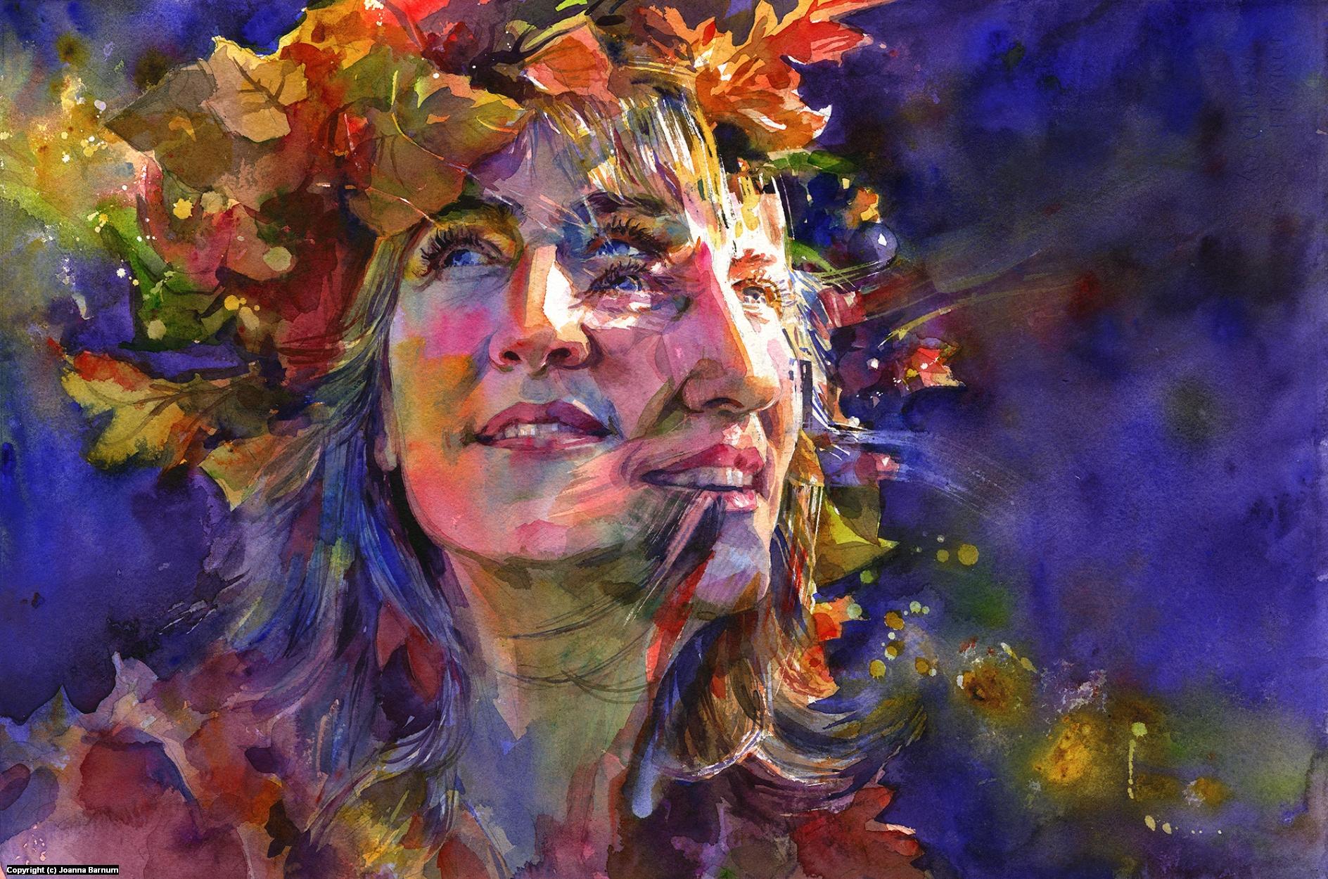 Aurelia Artwork by Joanna Barnum