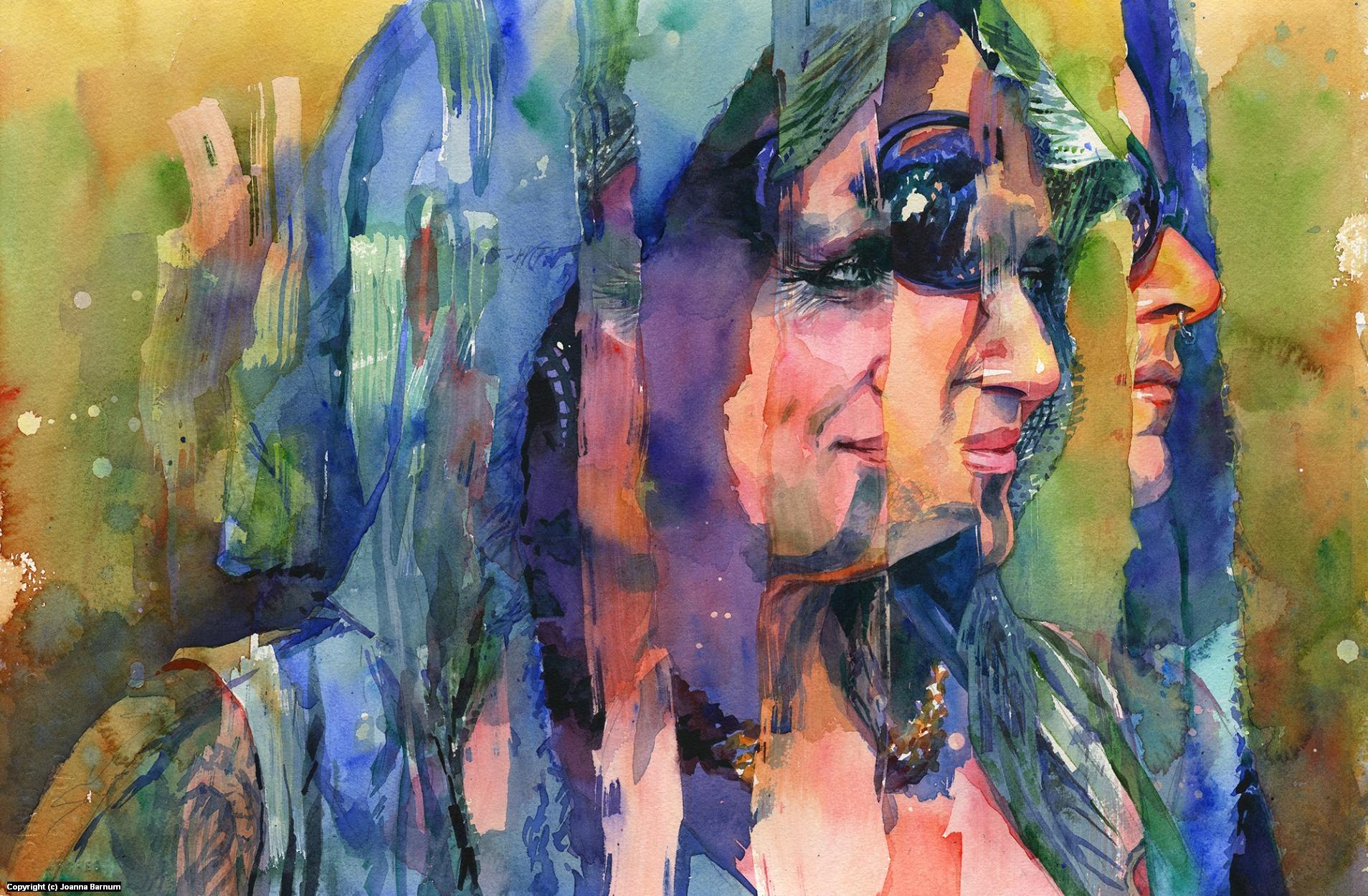 Modern Love Artwork by Joanna Barnum