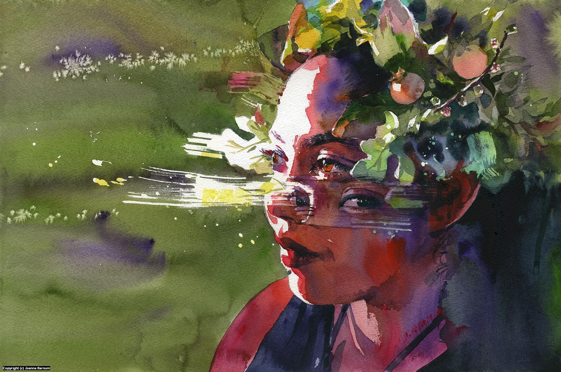 Gaze Artwork by Joanna Barnum