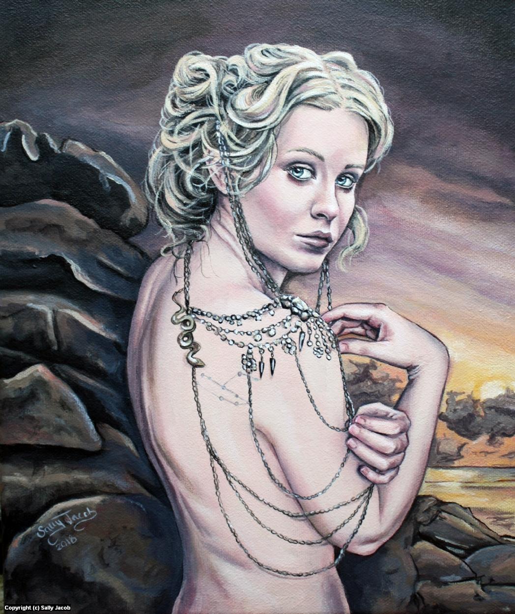 Andromeda  Artwork by Sally Jacob