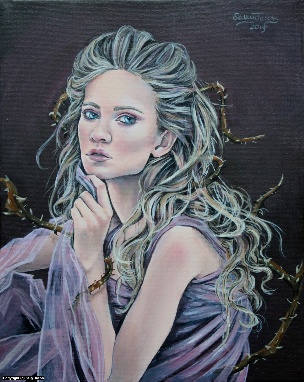 Thorns  Artwork by Sally Jacob