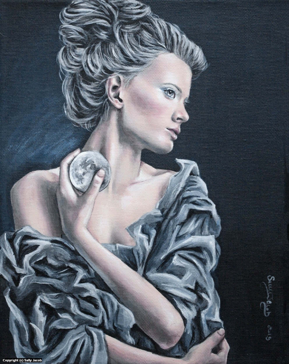 Luna  Artwork by Sally Jacob