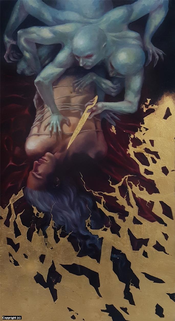 Ghosts of Lovers Past Artwork by Rain Delmar