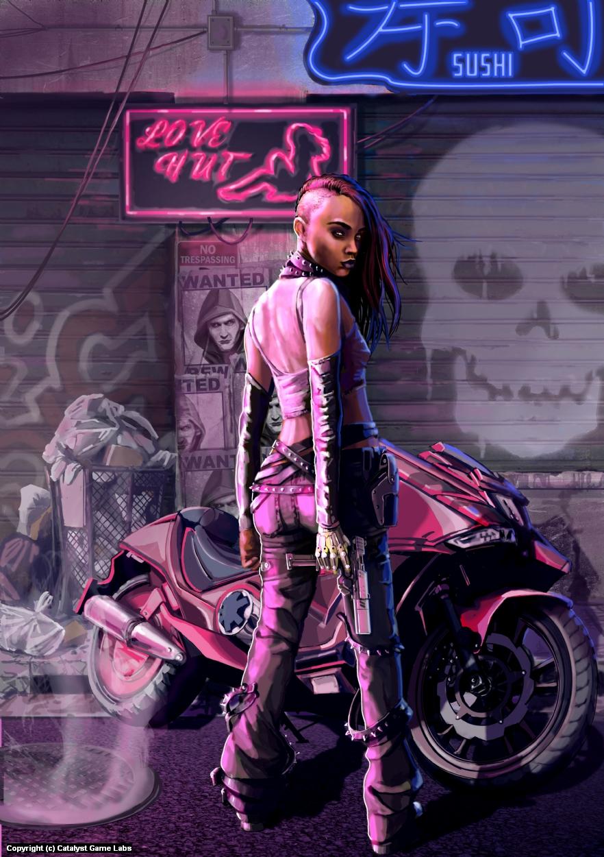 Purple Urple Artwork by Jack Hoyle