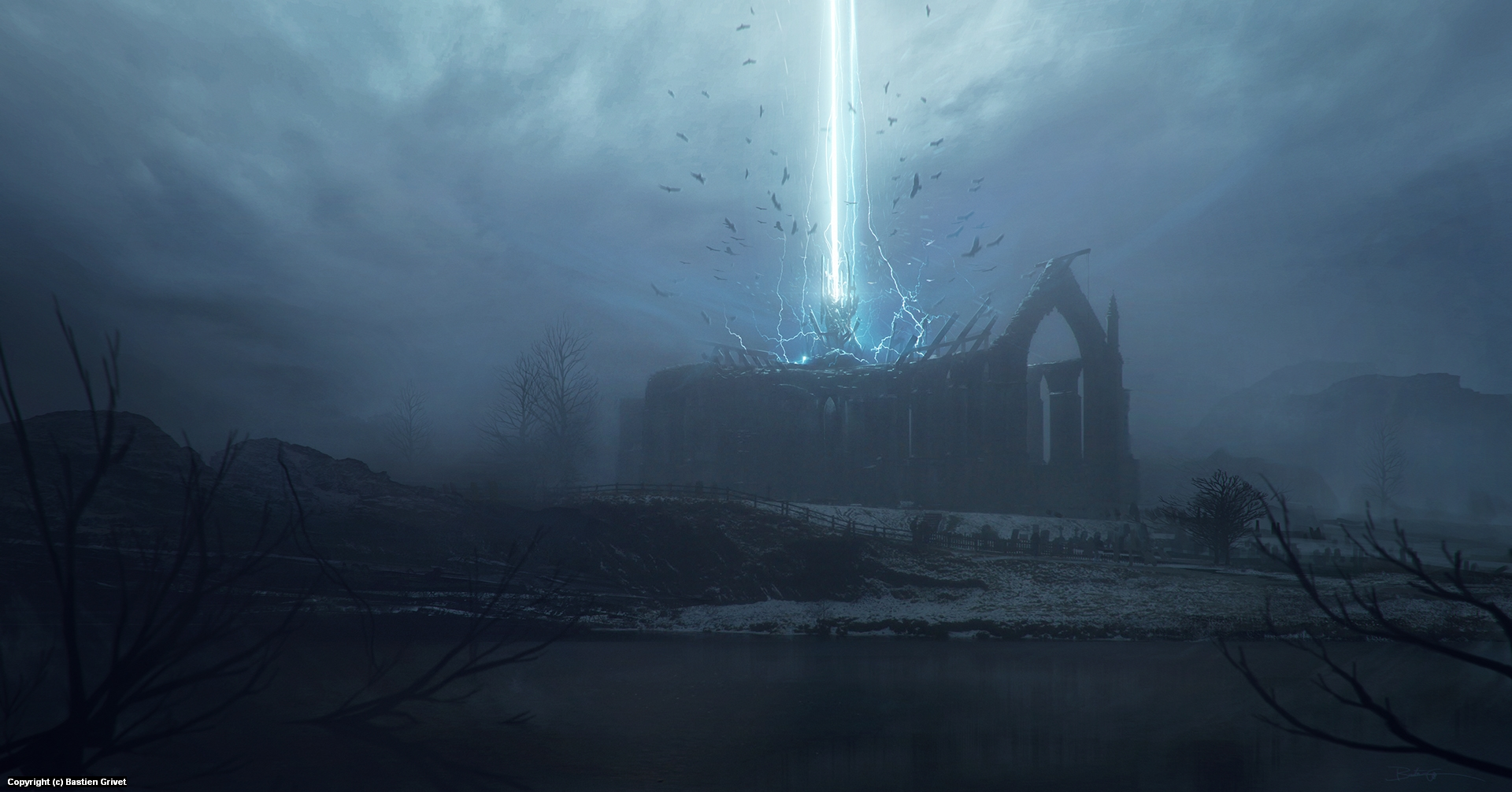 The First Call Artwork by Bastien Grivet