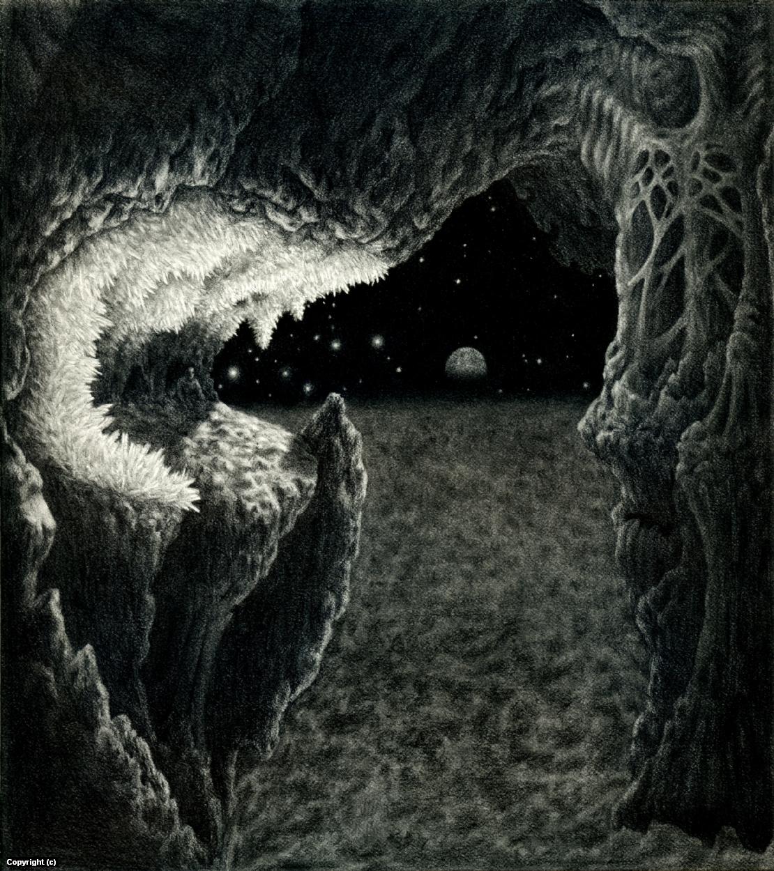 Crystal Planet Artwork by Jon Sideriadis
