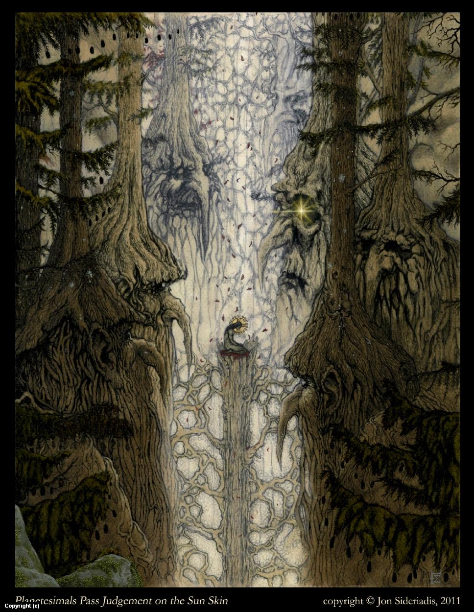 Planetesimals Artwork by Jon Sideriadis
