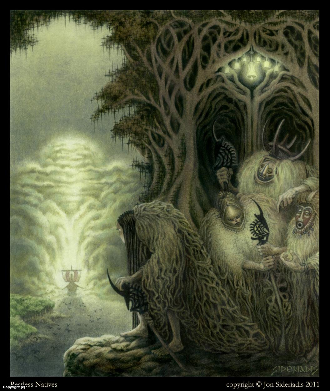 Restless Natives Artwork by Jon Sideriadis