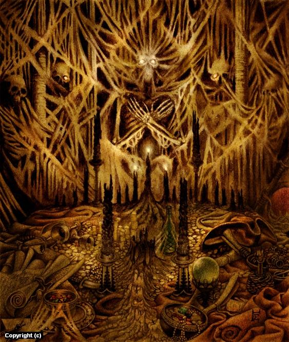 Skeleton Crew Artwork by Jon Sideriadis
