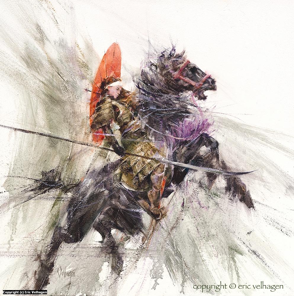 Mulan Artwork by Eric Velhagen