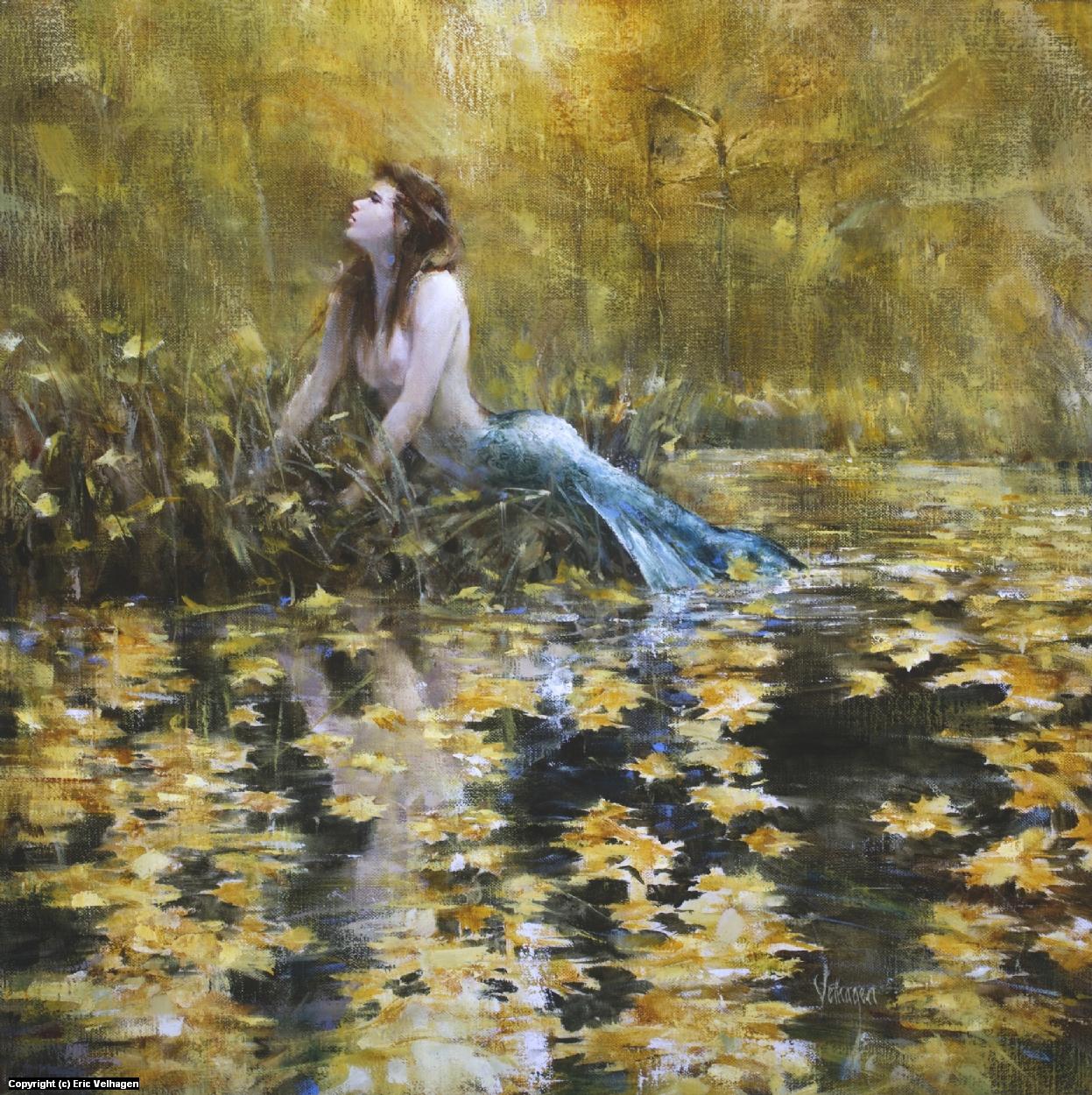 Autumn Nymph Artwork by Eric Velhagen