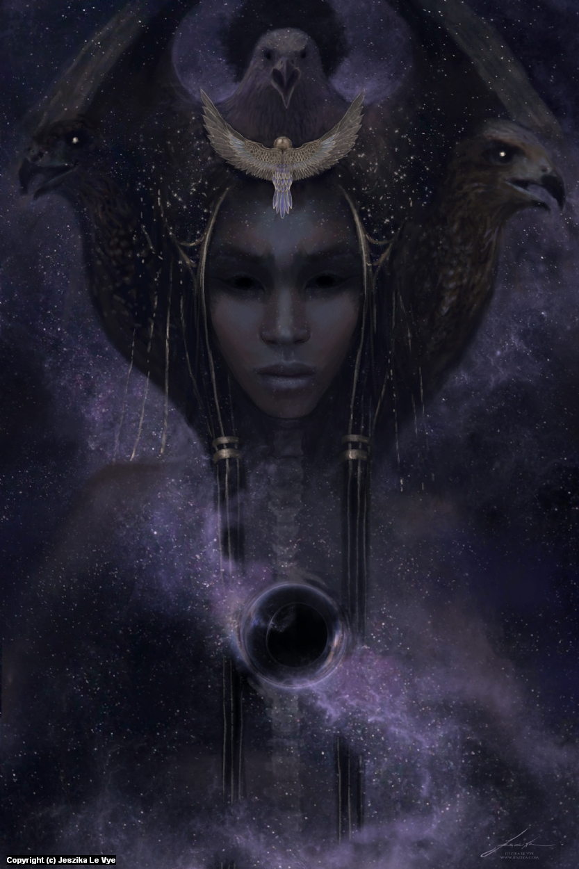 Nephthys Artwork by Jeszika Le Vye