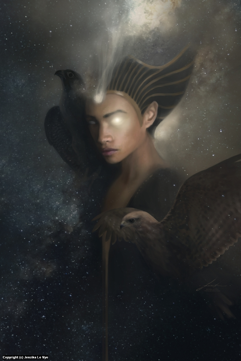 Horus Artwork by Jeszika Le Vye