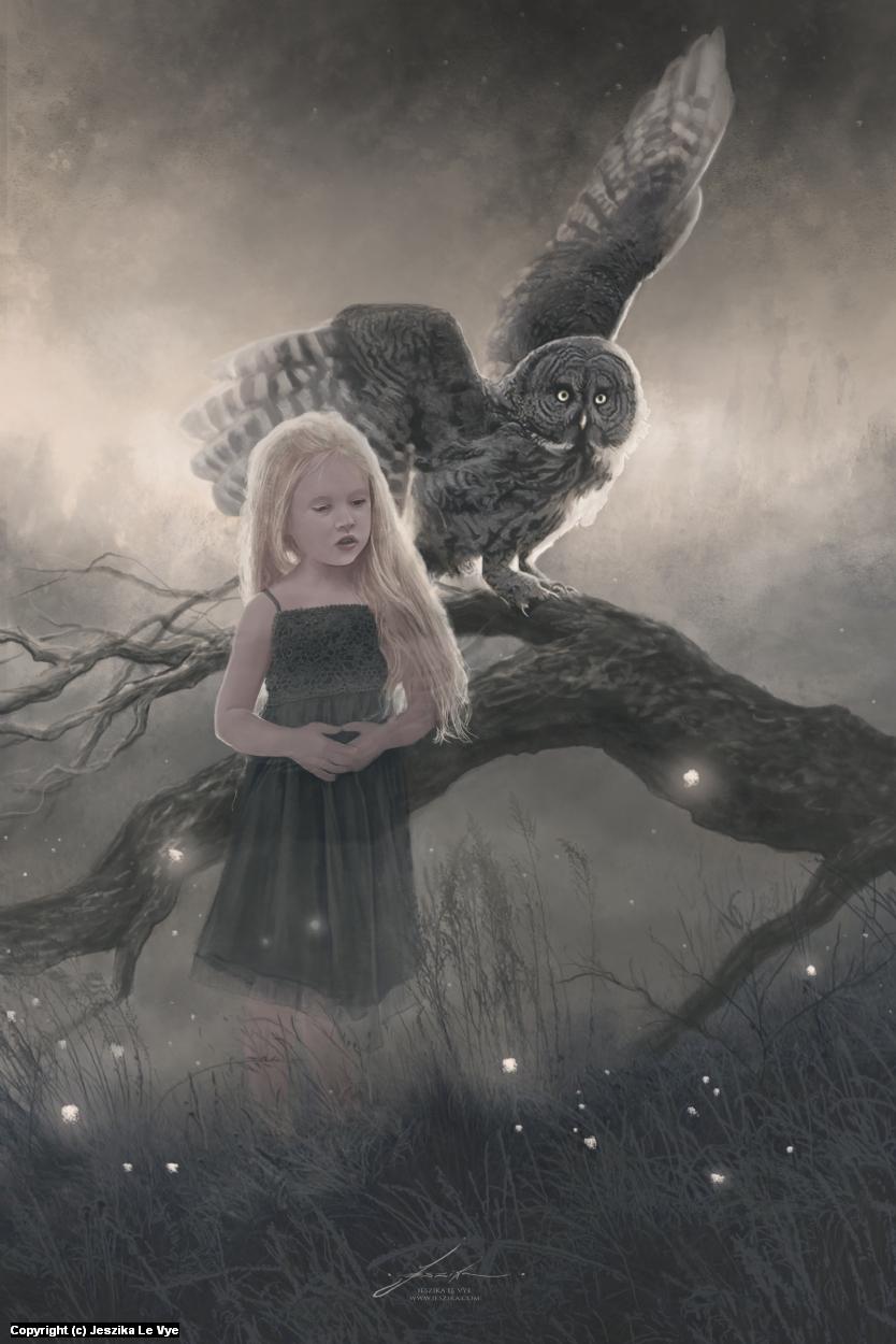Last Light Artwork by Jeszika Le Vye