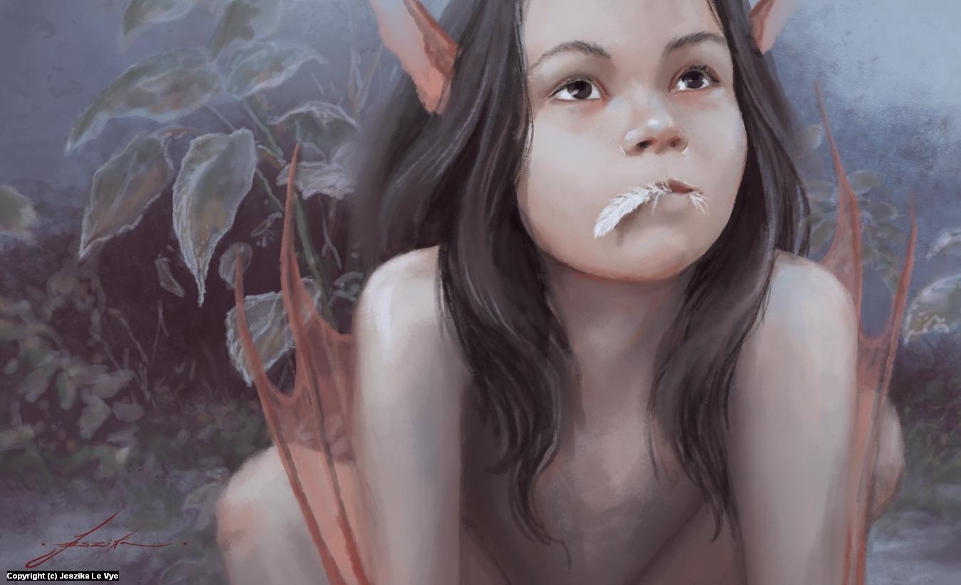 Sweet Tooth Artwork by Jeszika Le Vye