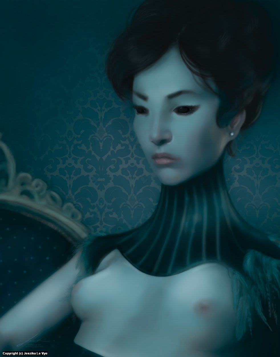 Pearl Artwork by Jeszika Le Vye