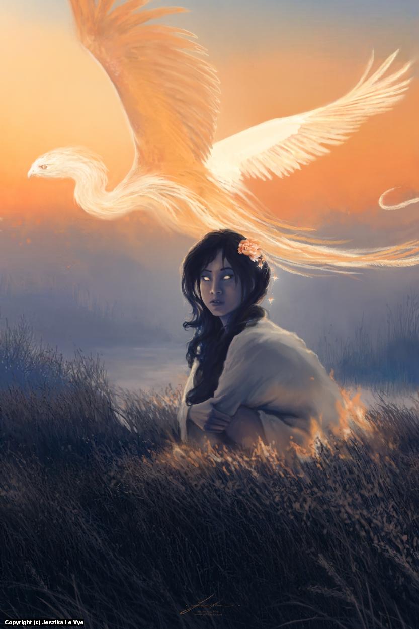 Morning Star Artwork by Jeszika Le Vye