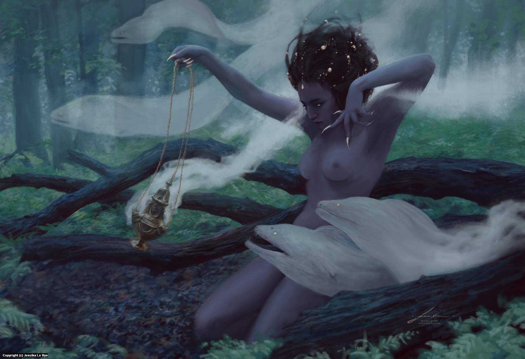 She Breathes Beasts Artwork by Jeszika Le Vye