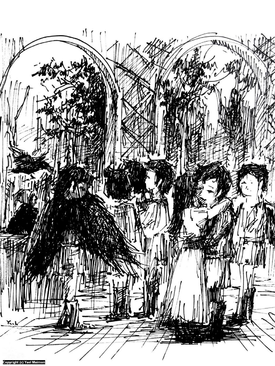 The Seven Ravens #3 Artwork by Yael Maimon