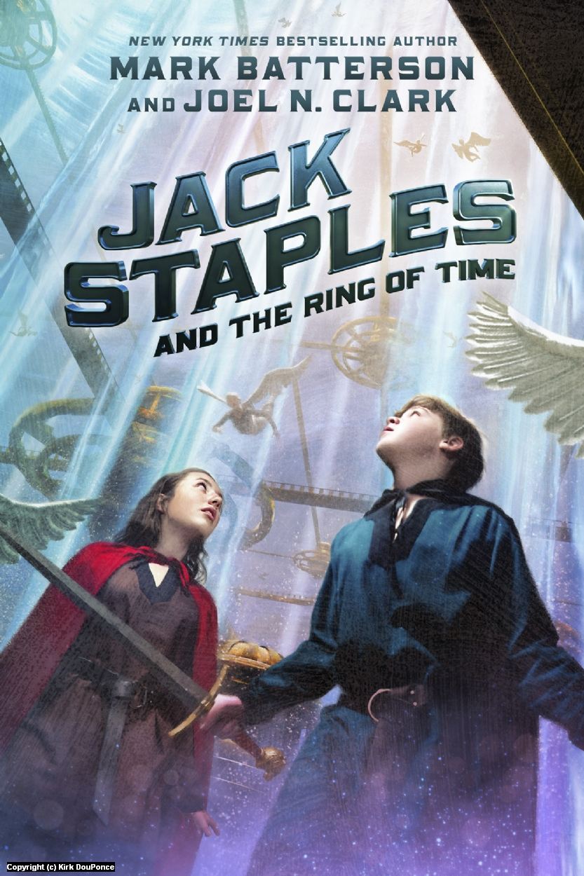 Jack Staples and the Ring of Time Artwork by Kirk DouPonce
