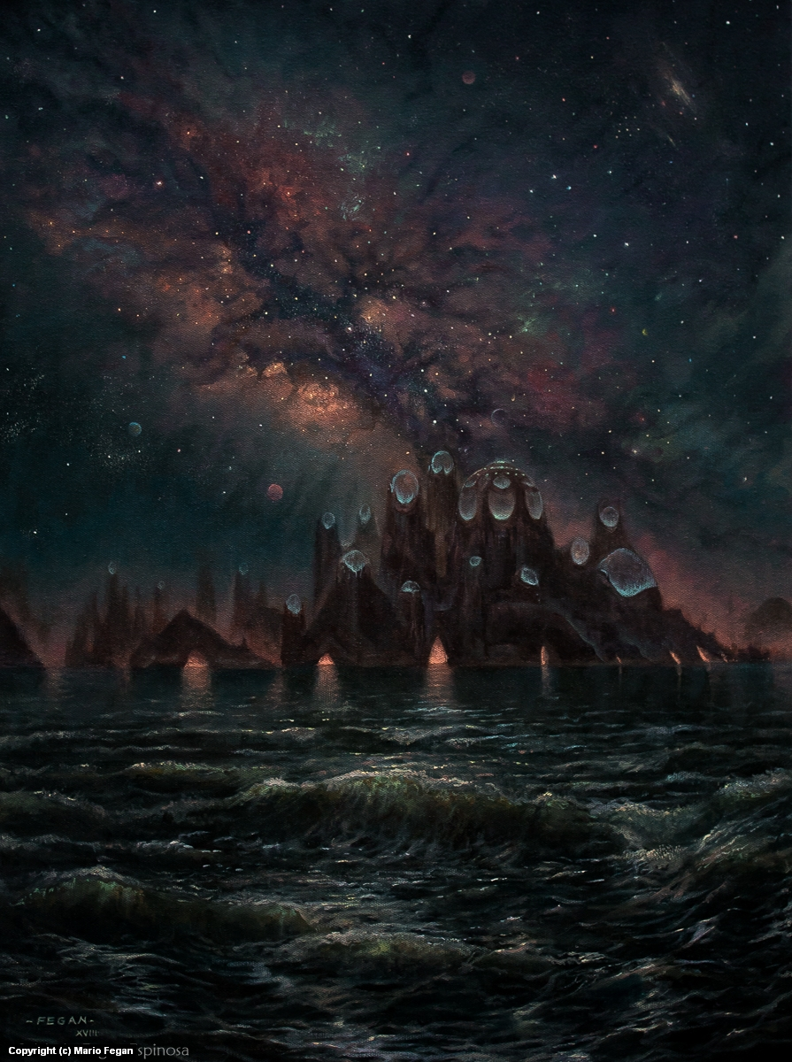 Visions of a Distant Sea  Artwork by Mario  Fegan