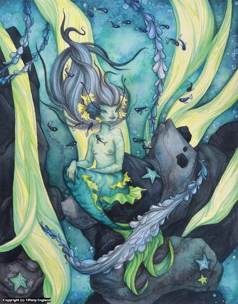The Siren's Silence Artwork by Tiffany England