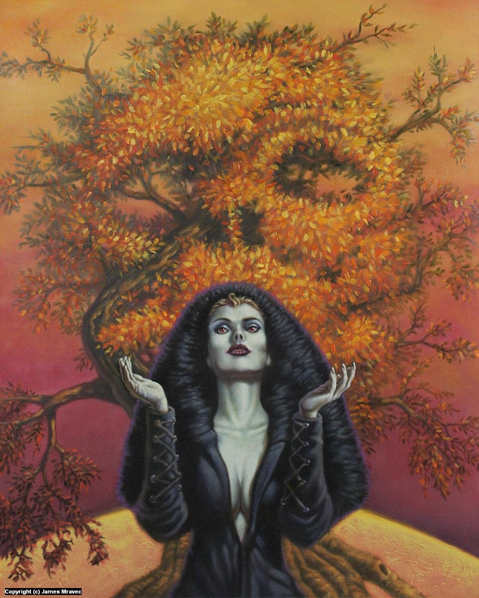 Blood Moon Artwork by James Mravec