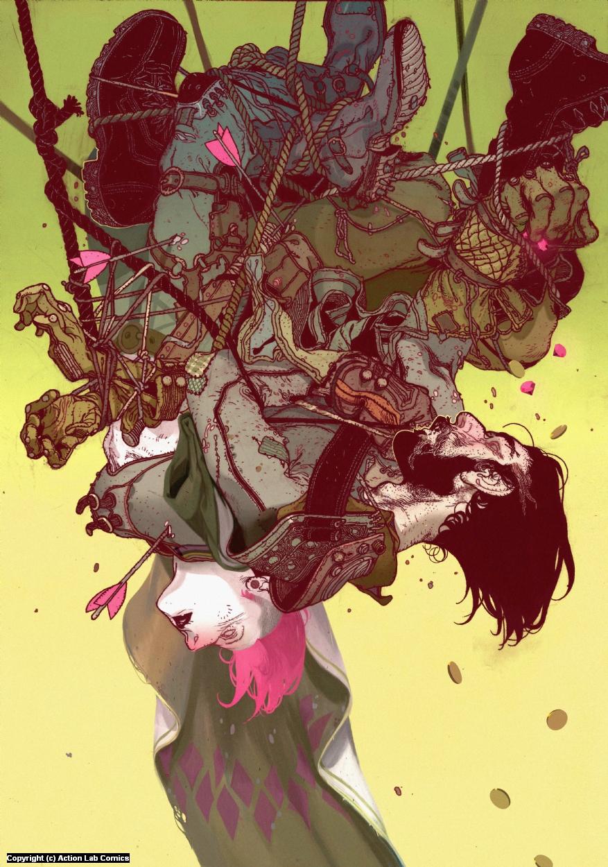 Brigands#1 Variant Cover Artwork by Anand  Radhakrishnan