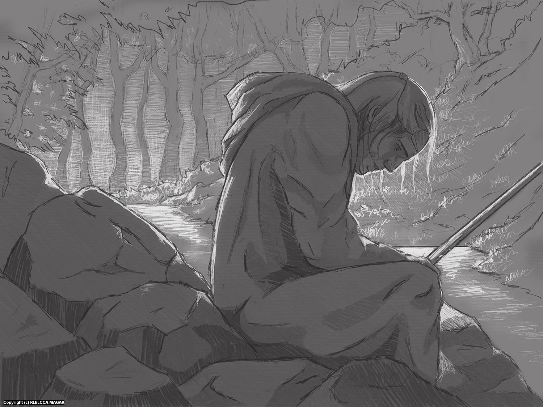 Seasons of Sacrifice - Spring #3 - Concept Sketch Artwork by Rebecca Magar