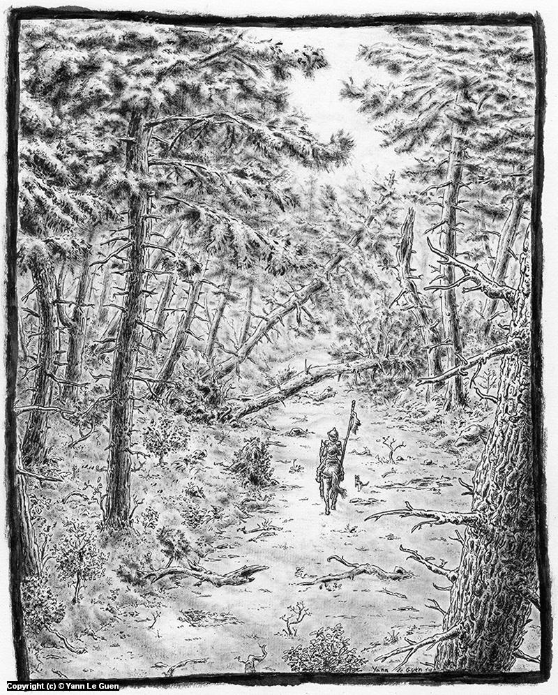 wandering Artwork by Yann Le Guen