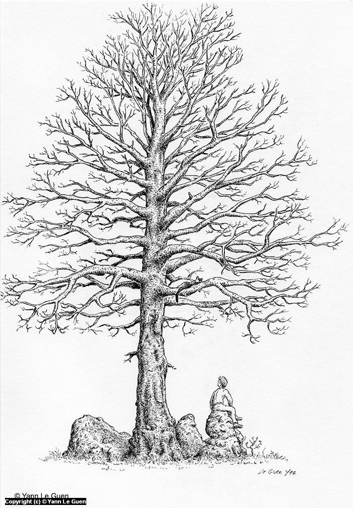 winter Artwork by Yann Le Guen