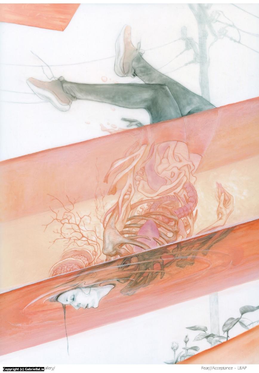 Leap Artwork by Gabriella Eriksson
