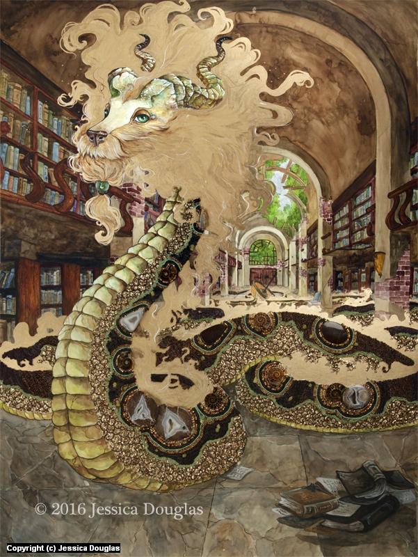Knowledge Artwork by Jessica Douglas