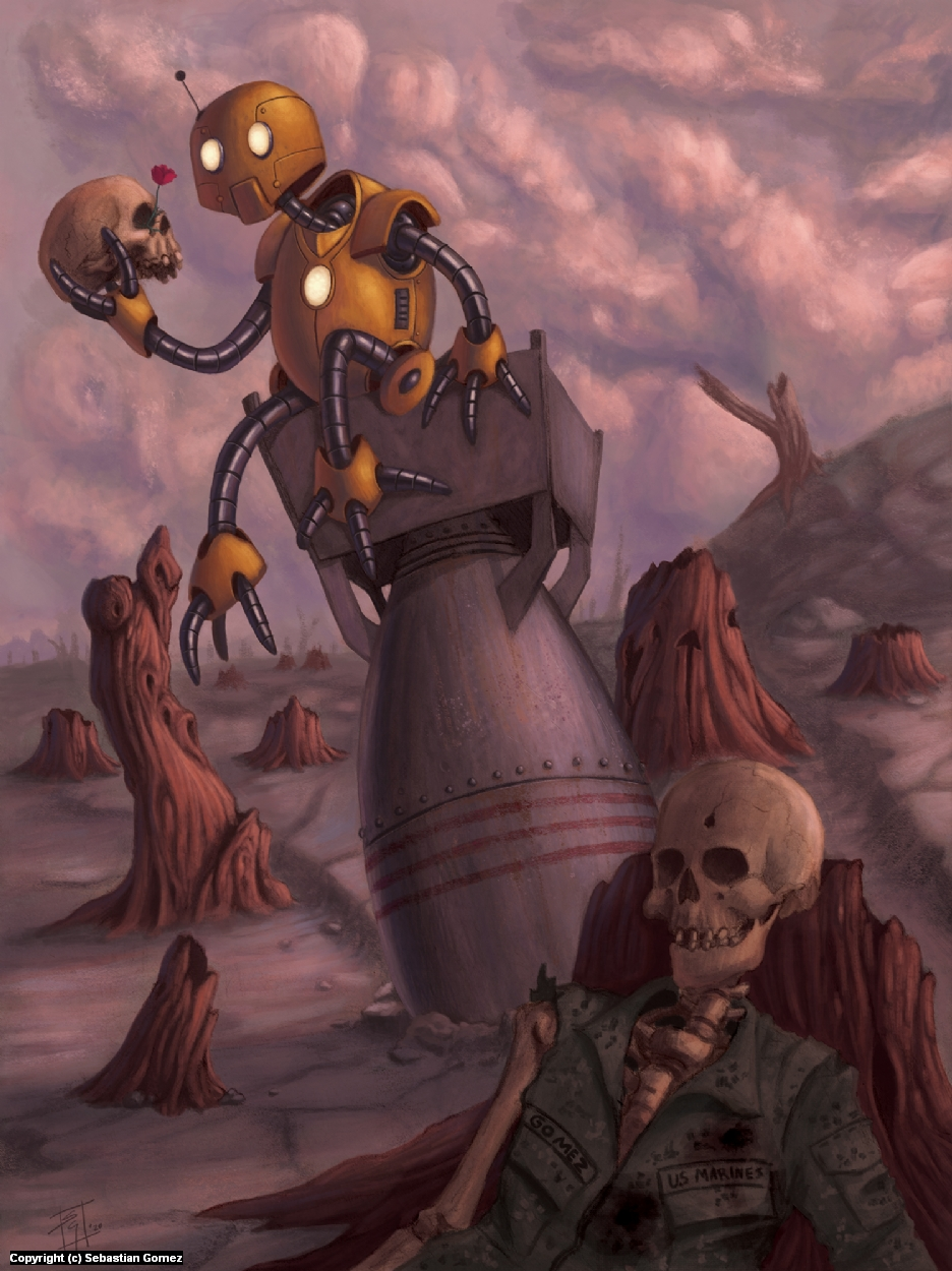 Life and Death Artwork by Sebastian  Gomez