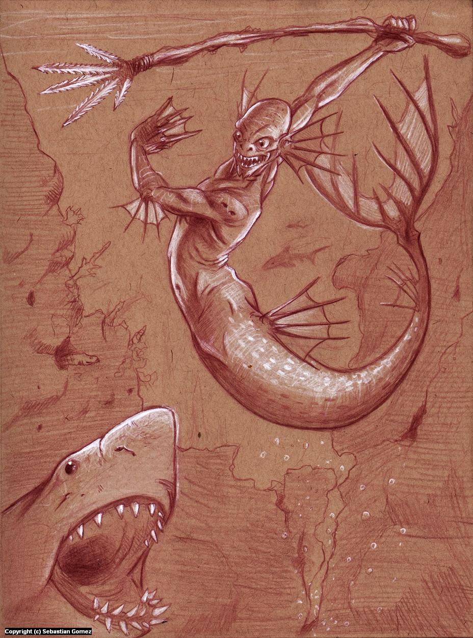 Top Predator Artwork by Sebastian  Gomez