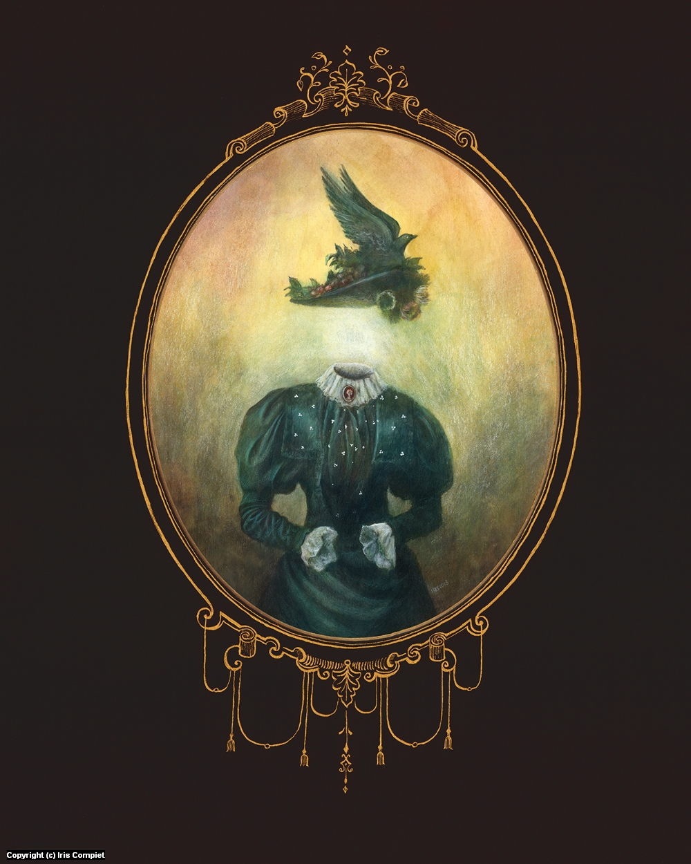 Gertrude Ghost Artwork by iris compiet