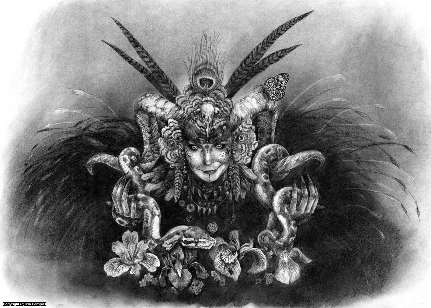 Aries Artwork by iris compiet