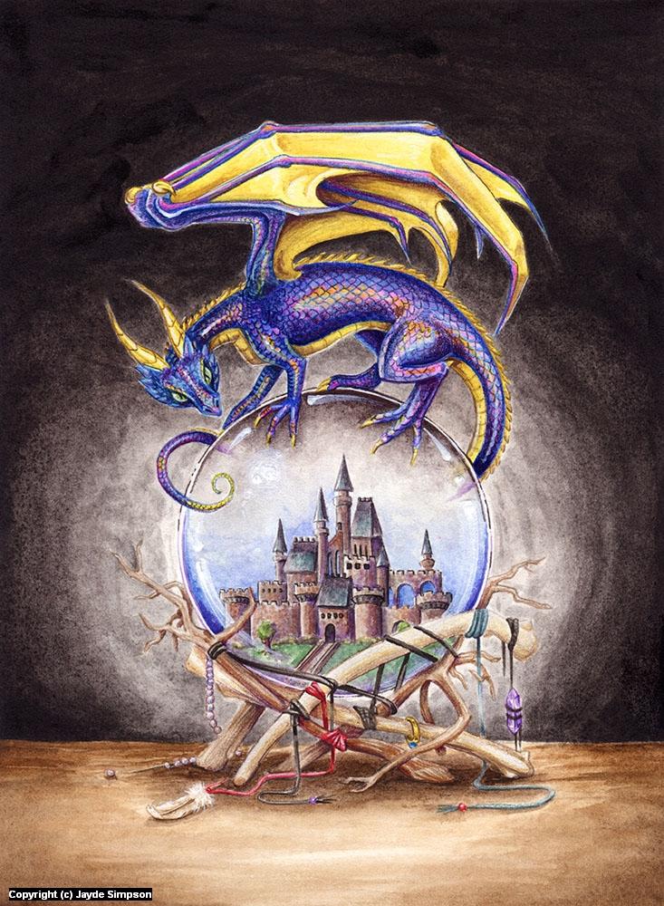 The Mystic's Familiar Artwork by Jayde Hilliard