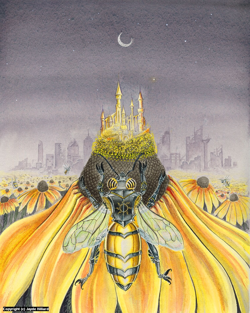 Divine Forager Artwork by Jayde Hilliard