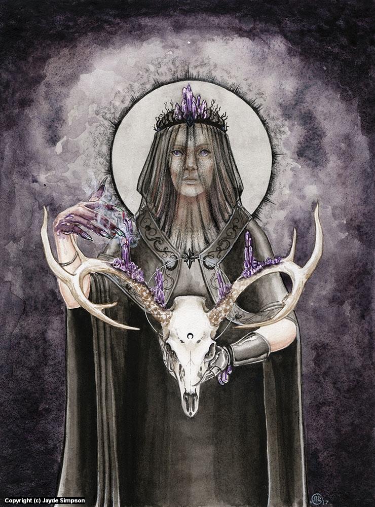 Alchemy Artwork by Jayde Hilliard