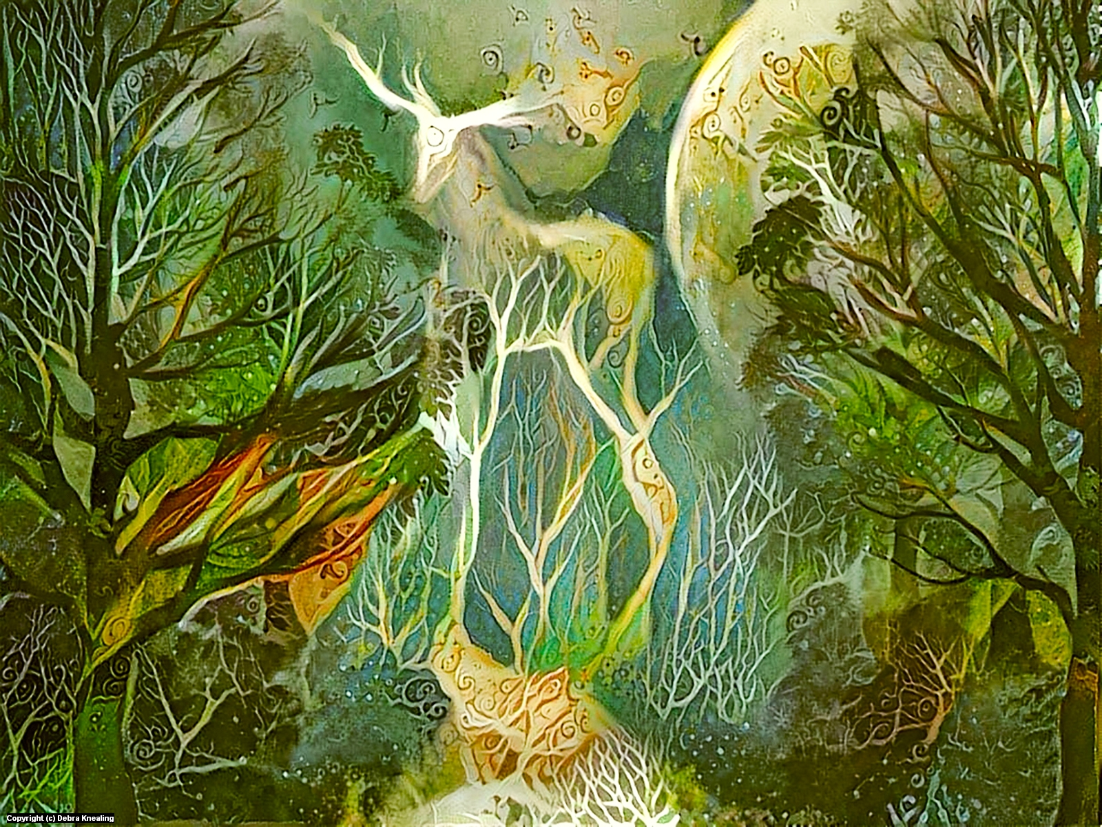 Strider Artwork by Debra Knealing
