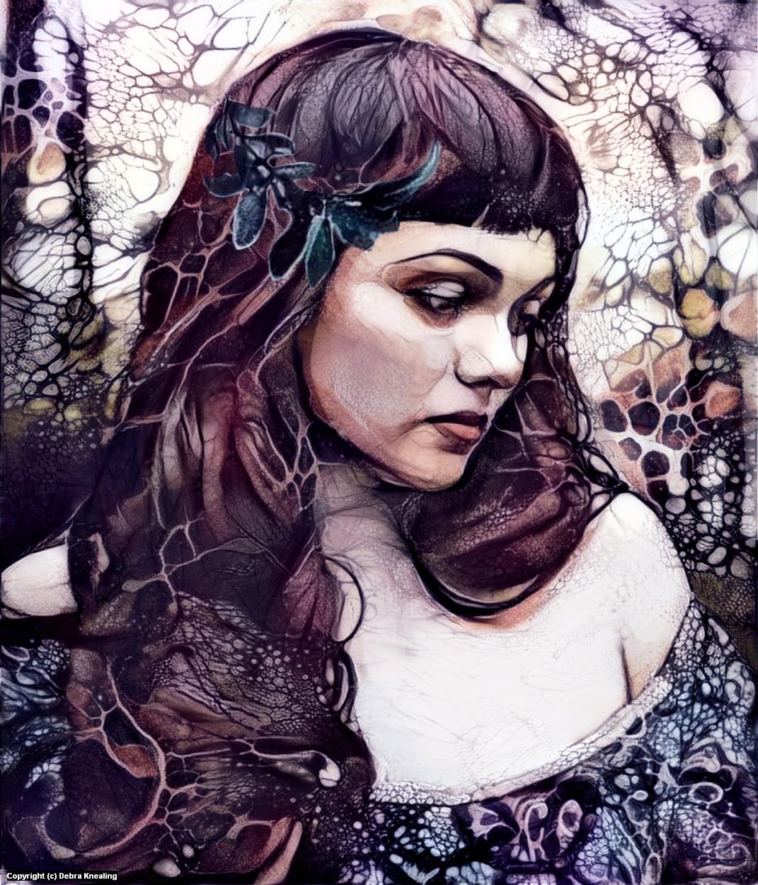 Violetta Artwork by Debra Knealing